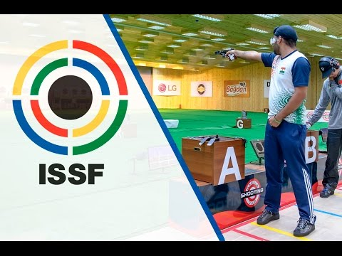 Finals 25m Rapid Fire Pistol Men - 2015 ISSF Rifle, Pistol, Shotgun World Cup in Gabala (AZE)