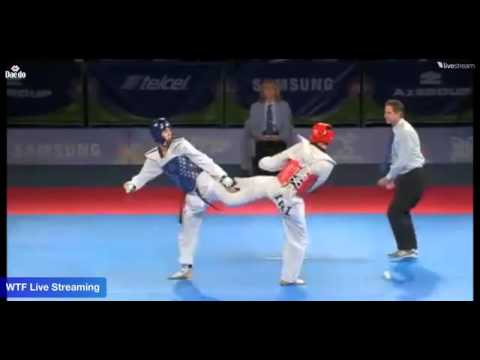 World Taekwondo Championships 2013 Puebla (kor) Vs (iri) Final 68 Kg video