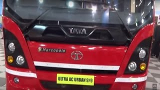 Tata Motors Marcopolo Ultra AC Urban 9/9 Bus at Bus & Special Vehicle Show