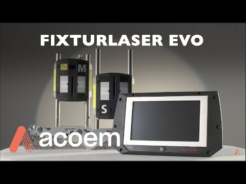Shaft Alignment Systems:  NEW Fixturlaser EVO