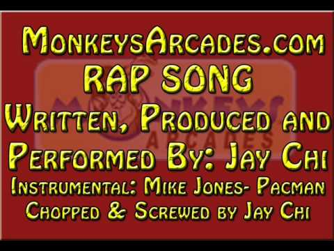 Jay Chi SPITS RAP for www.MonkeysArcades.com