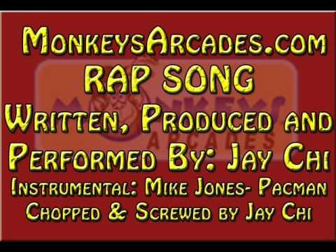 Jay Chi SPITS RAP for www.MonkeysArcades.com
