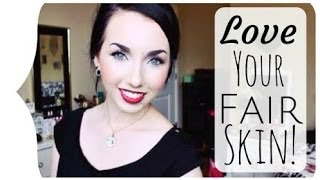 ♡ HOW TO LOVE YOUR PALE SKIN! | #TAYLORTALKS