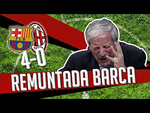 DS 7Gold - (BARCELLONA MILAN 4-0) REMUNTADA BARCA Music Videos