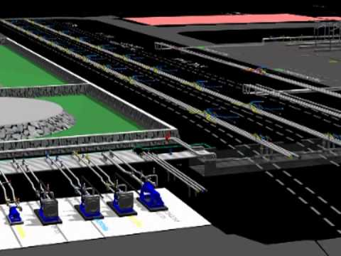 3D ANIMATION OF FUEL TANK FARM