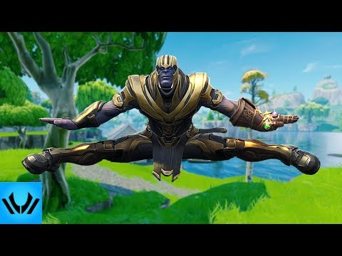 THE FORTNITE BOOGIE Ft. Thanos (Battle Royale) Song ► by DIVIDE