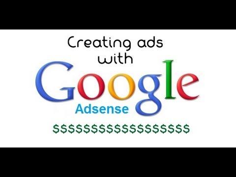 Adsense Tutorial - How To Create Ads With Google Adsense