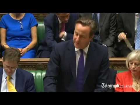 David Cameron sets out case for Britain joining war against Isil in Iraq
