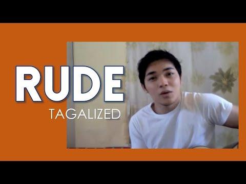 Rude by Magic Tagalog version Arron Cadawas