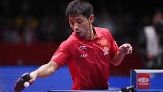 Zhang Jike - INSANE FOREHANDS!!!