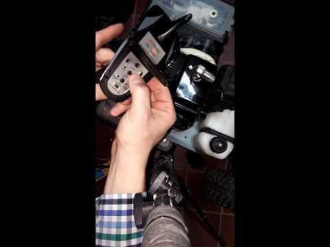 FS GT2 B 2.4ghz 3ch radio bind steps