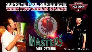 Jordan Shepherd vs Adam Davis  - The Supreme Pool Series - Supreme Masters - Last 16 - T3