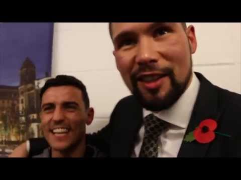 TONY BELLEW, LEIGHTON BAINES & ANTHONY CROLLA TALK TO KUGAN CASSIUS / WHOS' FOOLING WHO?