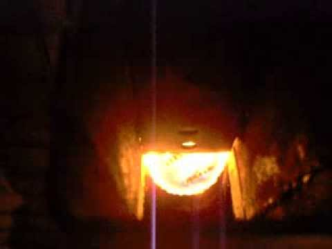 Rocket stove heater (on steroids)  burning waste oil