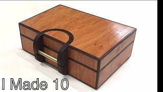 10 Amazing wooden keepsake boxes - Production mindset build