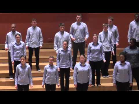 Young People's Chorus of New York City: Tres Cantos Nativos dos Indios Kraó, EJCF Basel 2014