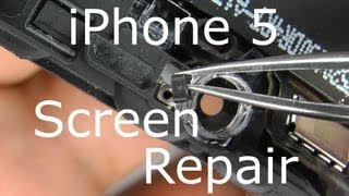 iPhone 5 Screen Repair - Digitizer & LCD Replacement - Holder Frame Exchange Comprehensive Guide