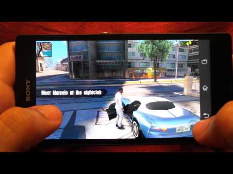 SONY XPERIA Z GANGSTAR RIO CITY OF SAINTS GAMEPLAY