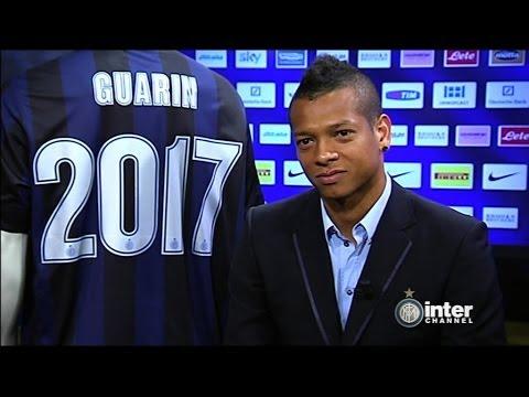 Fredy Guarin signs on until 2017 - El Inter y el Guaro, siempre juntos