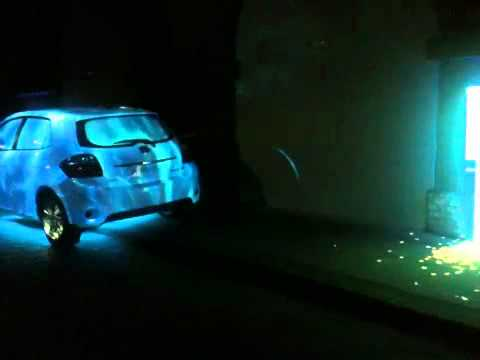 Toyota projection mapping