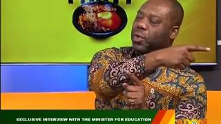 Exclusive Interview With The Minister For Education - Badwam on Adom TV (27-2-18)