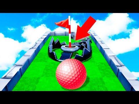 ПРЕОДОЛЕЙ ЛОВУШКУ, ЧТОБЫ ВЫИГРАТЬ! МАКСИМАЛЬНО НЕПОНЯТНАЯ И СЛОЖНАЯ ЛУНКА В ГОЛЬФ ИТ (Golf It)