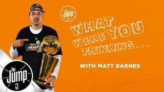 Matt Barnes on that time Kobe Bryant even didn