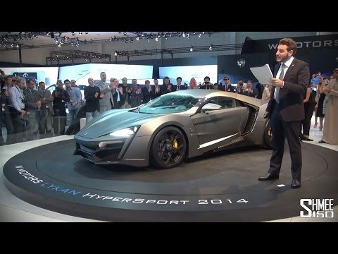Lykan HyperSport - $3 million Arabian Hypercar World Premiere
