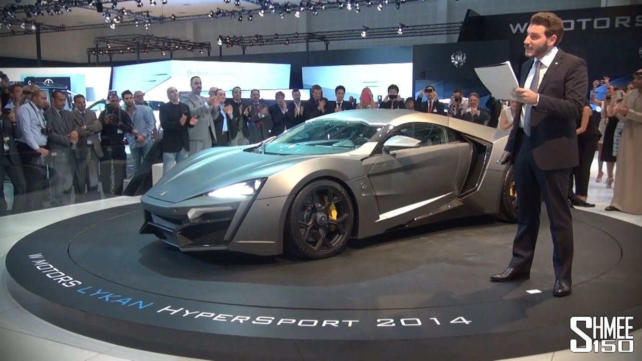Lykan Hypersport 3 Million Arabian Hypercar World