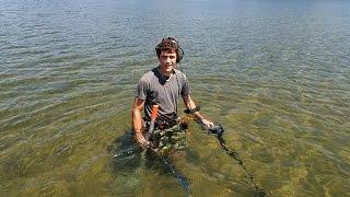 Metal Detecting the Lake Sandbar!