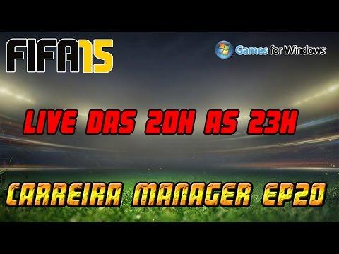 Fifa 15 Carreira Manager [PC] EP20 Jogando Ao Vivo