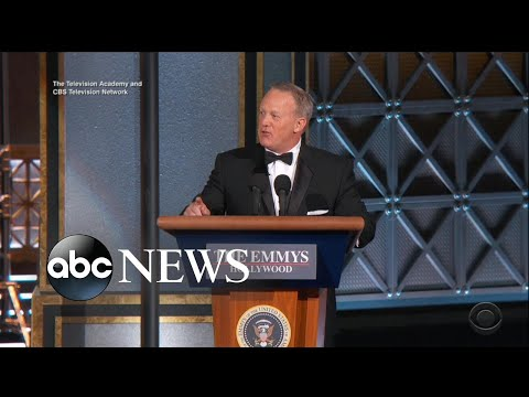 Sean Spicer, 'The Handmaid's Tale' highlight the 2017 Emmys