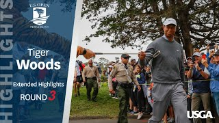 2019 U.S. Open, Round 3: Tiger Woods Extended Highlights