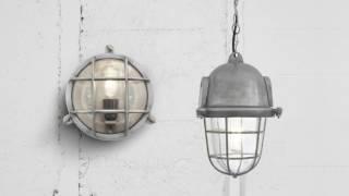 Industville Vintage Industrial Bulkhead Retro Lighting