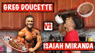 GREG DOUCETTES ANABOlIC FRENCH TOAST VS MY PROTEIN OATMEAL!!!