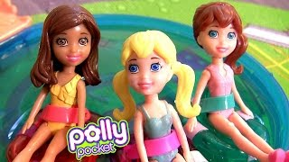 Bonecas Polly Pocket Muda de Cor Lila e Shani em Portugues BR - Color Changers Dolls Polly Pocket