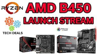 B450 Motherboard - Launch Live Stream - Q&A