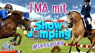 Lia & Alfi - Let's Play Horseworld Showjumping - FMA am Stall
