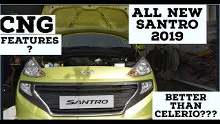 THE ALL NEW SANTRO CNG 2018  2019  | AUTOMATION INDIA | features , space,  looks?????