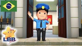 Desenho para Bebe | Polícia Polícia | Canções para Crianças | Little Baby Bum Júnior