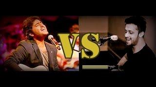 Arijit Singh Vs Atif Aslam (Live Singing)