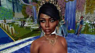 Johnothan & Luana Second Life Wedding - 1.26.19
