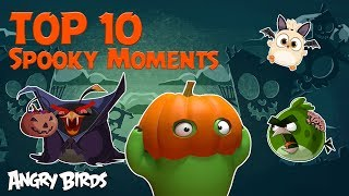 Angry Birds - Top 10 Spooky Moments   Halloween Special