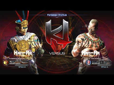 Killer Instinct Kan-Ra Gameplay Footage - Online Match 16