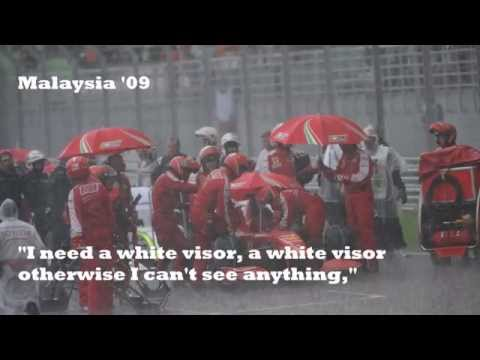 Felipe Massa BEST team radio compilation EVER!