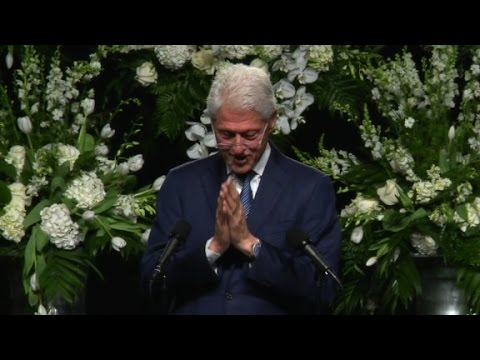 Bill Clinton's eulogy for Muhammad Ali