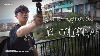 visiting a ghetto neighborhood in colombia! (really dangerous?), jay x VWVB