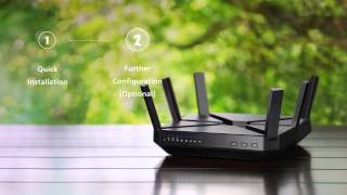TP-Link AC3200 Wireless Tri-Band Gigabit Router (Archer C3200) Setup Tutorial Video (US)