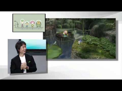 Wii U - Pikmin 3 (Wii U) Gameplay Demo walkthrough