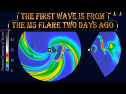 BREAKING NEWS: MAJOR SOLAR STORM HEADING FOR EARTH – 11 September 2014